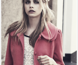 model, girl, and cara delevingne image