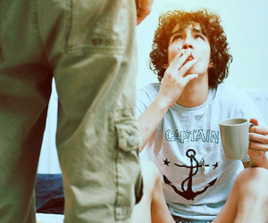 robert sheehan, boy, and cigarette image