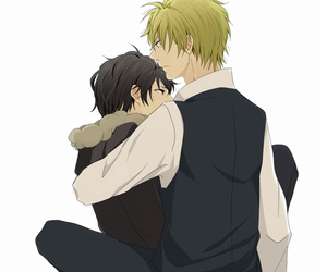 durarara, anime, and shizaya image