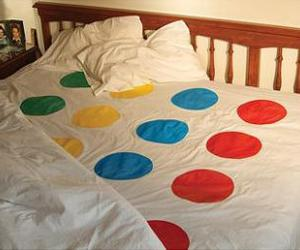 bed, sex, and twister image
