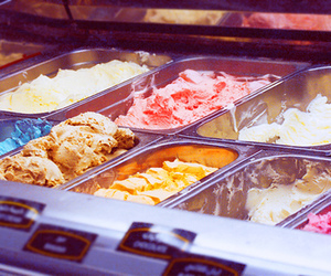 colorful, ice, and ice cream image