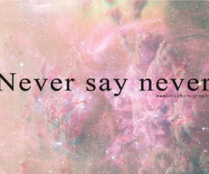 never say never and justin bieber image