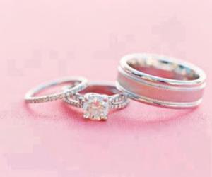 diamond, love, and rings image