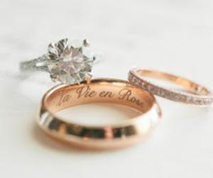 love, diamond, and marriage image