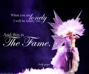 fame, Lady gaga, and lonely image