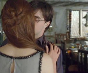 deathly hallows, harry potter, and love image