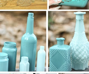 diy, bottle, and flowers image