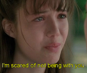 A Walk to Remember, subtitles, and quote image