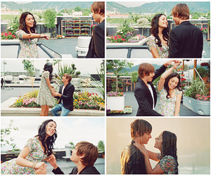 couple, high school musical, and vanessa hudgens image