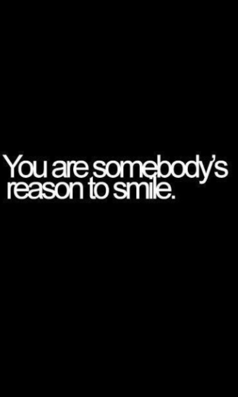 smiling to you shared by liveluvcreate on we heart it