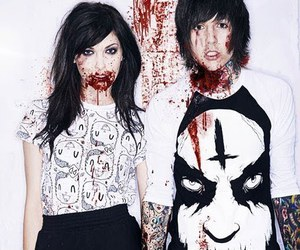oliver sykes, blood, and drop dead image