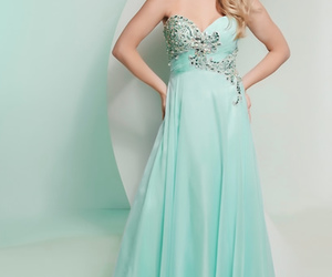blue, pretty, and Prom image