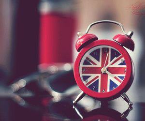 clock, england, and london image
