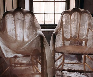 chair and lace image