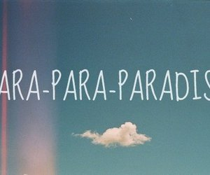 paradise, coldplay, and sky image