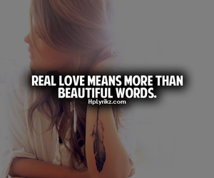 love, quote, and words image