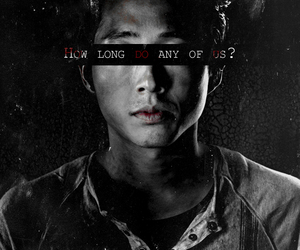 twd, glenn, and the walking dead image
