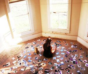 girl, photo, and memories image