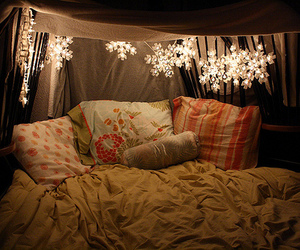 bed and lights image