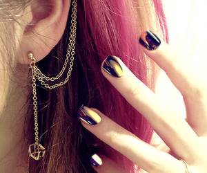 cool, earring, and fashion image