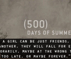 love, 500 Days of Summer, and quote image