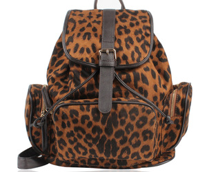 backpack and leopard backpack image