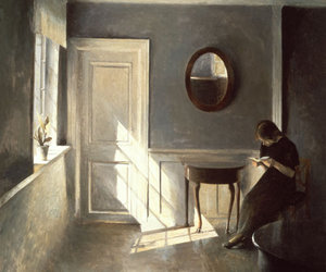 vilhelm hammershoi, dostoevskij, and peter ilsted image