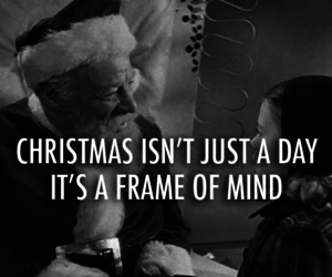 miracle on 34th street 1947 quote about black and white christmas frame of mind gif holiday xmas