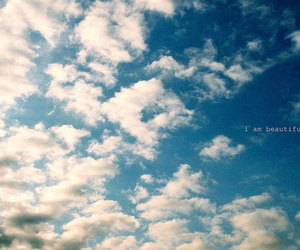 quote, sky, and typography image