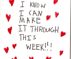 quotes, week, and heart image