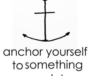 anchor, life, and quotes image