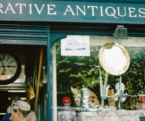 antiques, shop, and vintage image