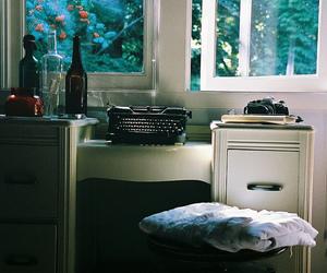 vintage, window, and bedroom image