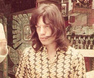 mick jagger, retro, and vintage image