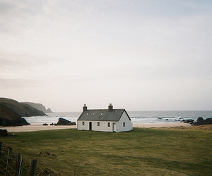 house, nature, and sea image