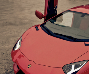 car, Lamborghini, and red image