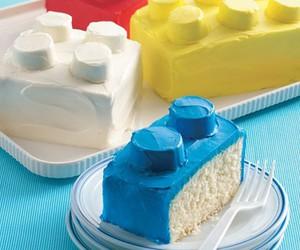 cake, lego, and food image