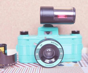 blue, camera, and films image