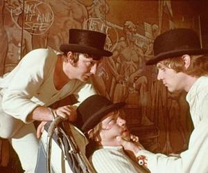 a clockwork orange, movie, and Stanley Kubrick image