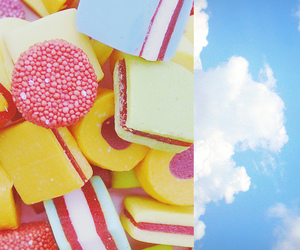 candies, colorful, and sky image