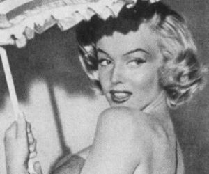 b&w, Marilyn Monroe, and black and white image