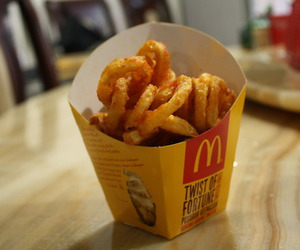 delicious, fries, and photograph image