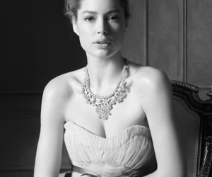 model, Doutzen Kroes, and dress image