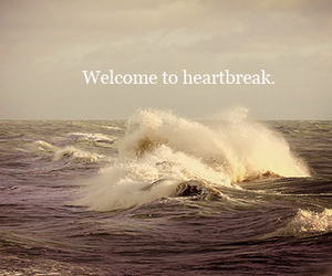 text, heartbreak, and ocean image