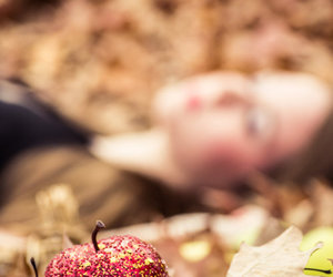 apple, snow white, and fairytale image