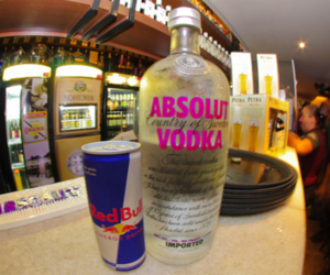 vodka, red bull, and drink image