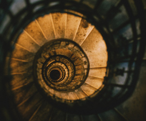 spiral, stairs, and vintage image