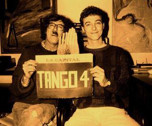 charly garcia and pedro aznar image