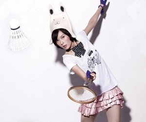 asia, badminton, and clothes image