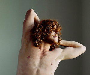 beautiful, ginger, and man image